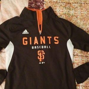 San Francisco GIANTS Athletic Running Shirt